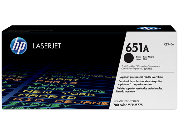 Toner Hp 651A Original Black (CE430A)