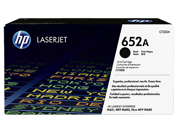 Toner HP 652a Black