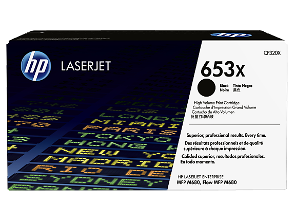 Toner HP 653x Black (CF320X)